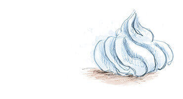 Gaufrette & meringues