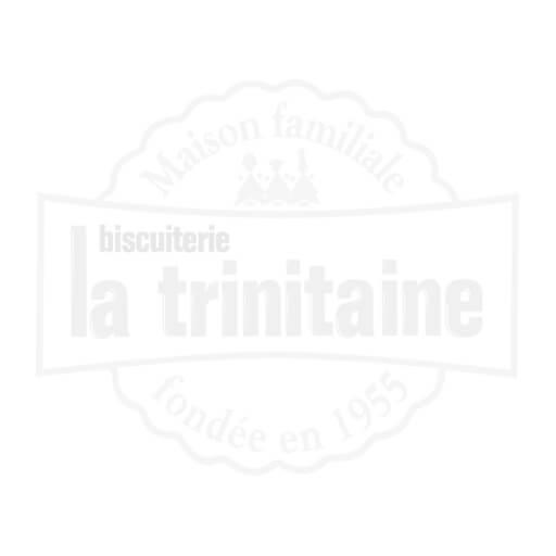 Carton vrac de mini galettes bretonnes : éclats caramel / pur beurre / pépites de chocolat - Bord de tasse