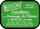 Sardines au fromage de chèvre de Belle-île