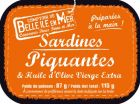 Sardines piquantes à l'huile d'olive vierge extra