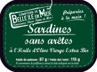 Sardines sans arêtes à l'huile d'olive bio