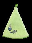 Torchon Eponge Vert