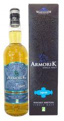Whisky breton Armorik « Légende » BIO. 43% vol. 70cl