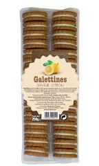 Galettines saveur citron