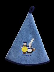 Torchon Eponge Bleu