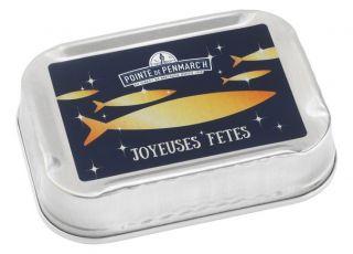 Sardines à l'huile d'olives vierge extra bleu et Or 115 g