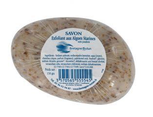 Savon galet exfoliant aux algues