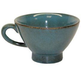 Bolée avec anse Turquoise