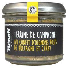 Terrine confit d'oignon et curry Hénaff