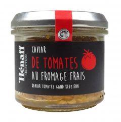 Caviar de Tomates au Fromages Frais Hénaff