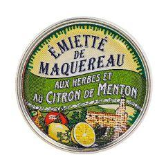 """Emietté de maquereau aux herbes et au citron de Mento  """"La belle-iloise"""" 118g"""