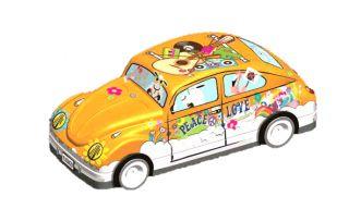 Coccinelle VW orange garni de galettes 110g