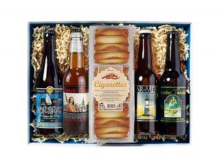 Plateau de bières bretonnes