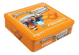 "Coffret 1/4 fer orange ""Pub ancienne"""