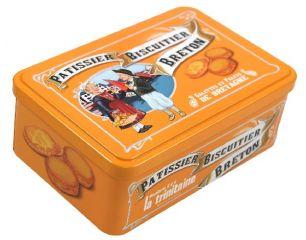 "Coffret orange ""Pub ancienne"""