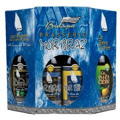 Coffret de 6 bières Mor Braz tradition 33cl