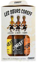 """Coffret de 6 bières """"soeurs Coreff"""""""