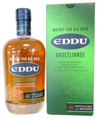 Whisky breton Eddu Brocéliande 70cl
