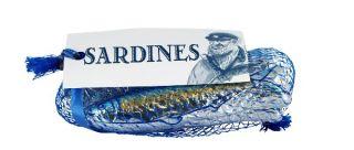 Filet bleu de sardines au chocolat