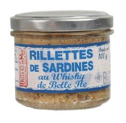 Rillettes de sardine au whisky de Belle-île