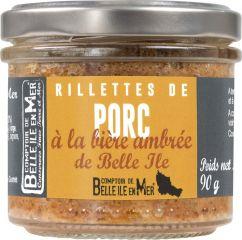 Rillettes de porc à la bière ambrée de Belle-île