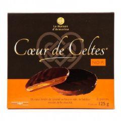 Cœur de celte chocolat noir