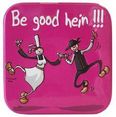 """Caramels au beurre salé boîte 45g décor """"Be Good Hein"""""""