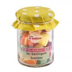 Berlingots aux fruits en petit pot