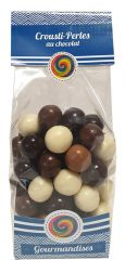 "Crousty perles chocolat ""gourmandise"""