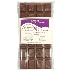 Tablette choc/lait nature La Cabosse