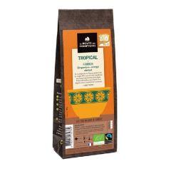 """Rooïbos bio parfumé gingembre, orange et abricot """"Tropical"""""""