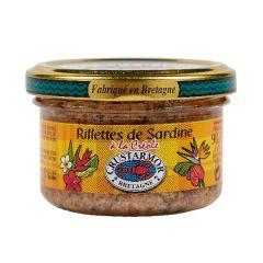 Rillettes de sardines à la créole