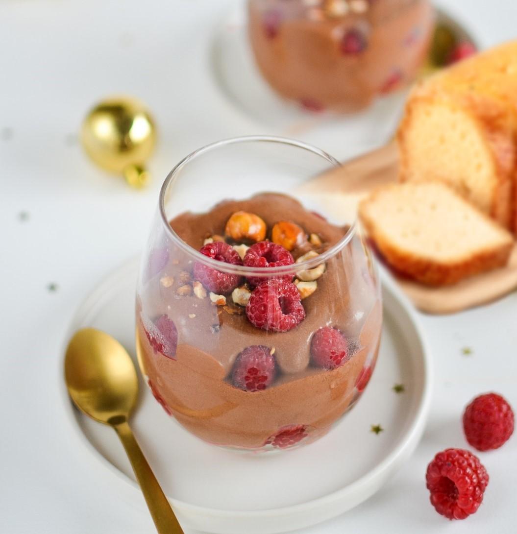 [Voyage Gourmand] Trifle au chocolat noir et framboises