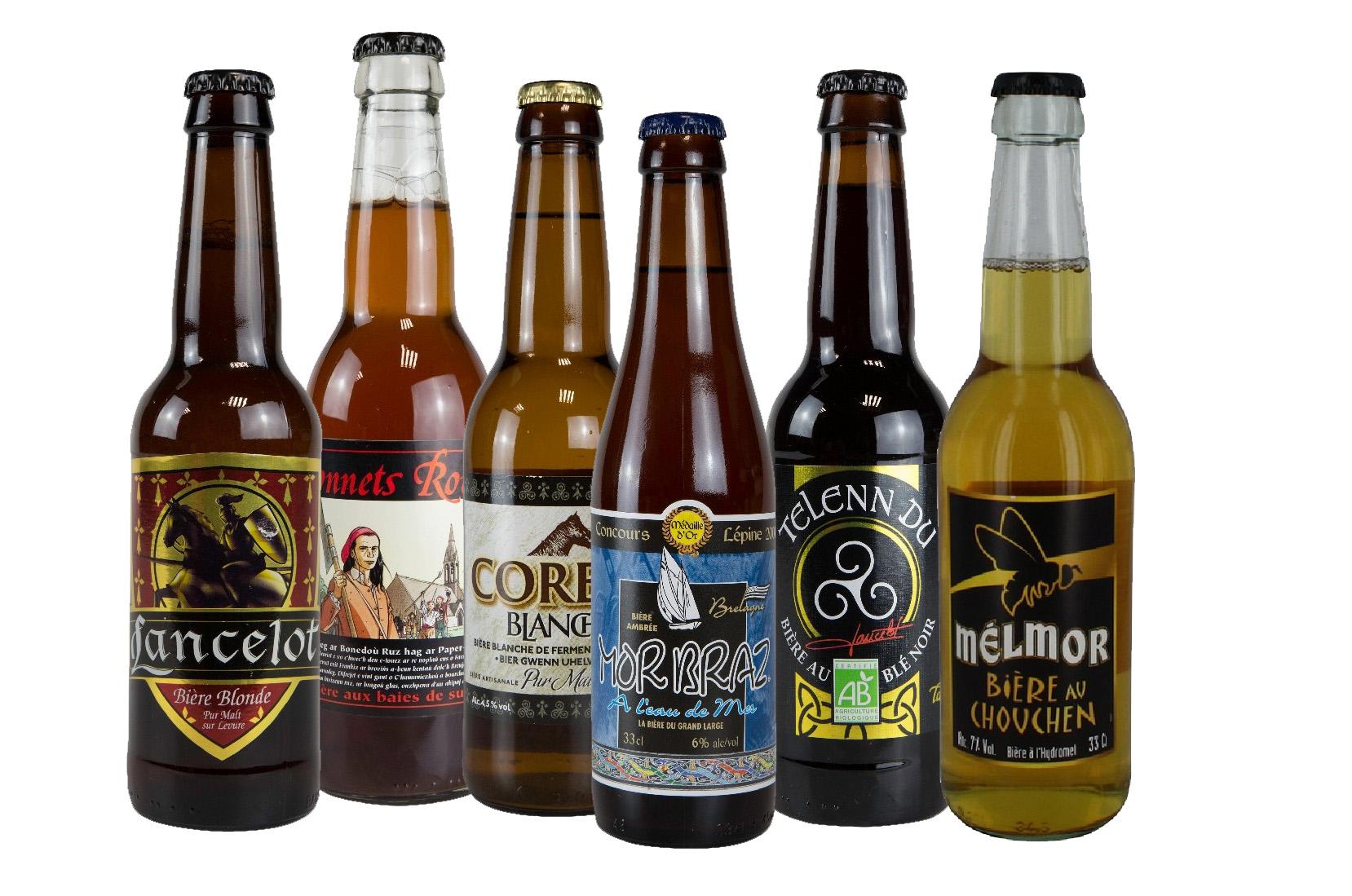 Bières bretonnes Lancelot Correff