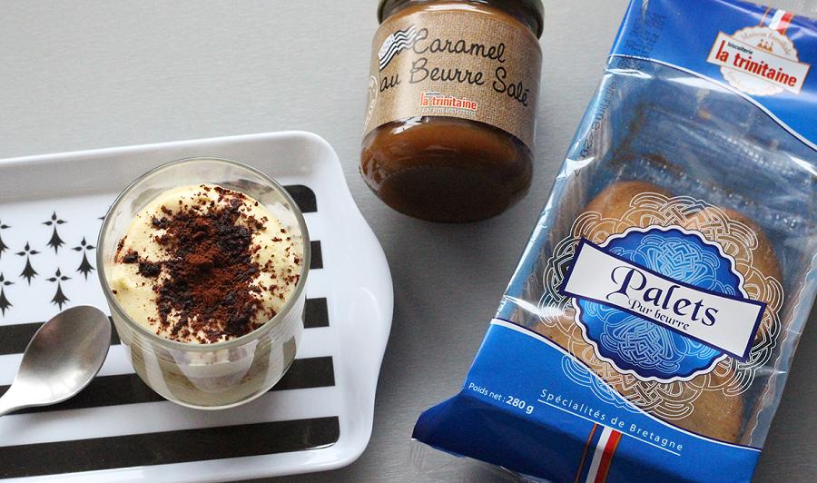 Ingrédients Tiramisu caramel au beurre salé
